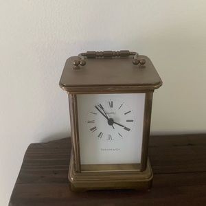 Tiffany & Co vintage desk clock